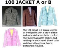 100 Jacket Downloadable Pattern