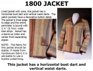 1800 Zippered Jacket Downloadable Pattern