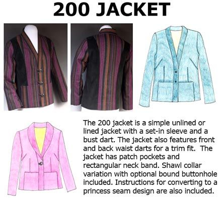 200 Jacket Downloadable Pattern