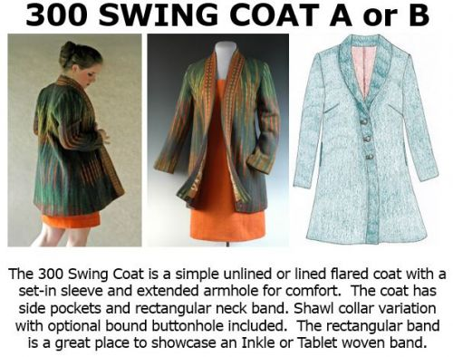 300 Swing Coat Downloadable Pattern