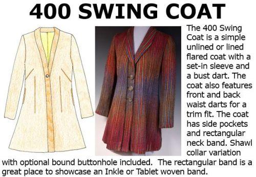 400 Swing Coat Downloadable Pattern