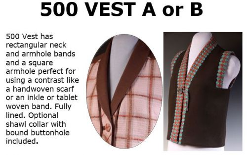 500 Vest Downloadable Pattern