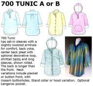 700 Tunic Downloadable Pattern