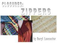 Digital: Closures Zippers