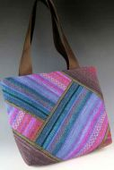 Pacific Sunset Pieced Tote Bag