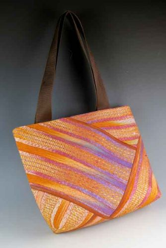 Wildfires Pieced Tote Bag